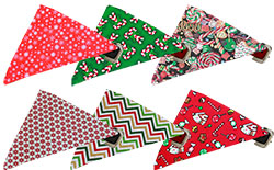 Holiday Bandana Collars